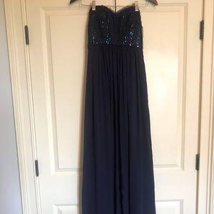 BCBG PARIS women's long formal dress
